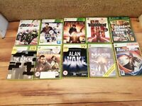 Job Lot of 10 Xbox 360 Games - Sold as unchecked SOME NICE OTHERS NOT SO GOOD