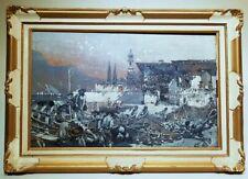 Dipinto di R. Pellegrini fine '800, Painting by R. Pellegrini late 1800s