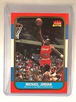 1996-97 Fleer Premier Ultra Decade #U4 Michael Jordan Rookie Card Last Dance