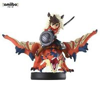Nintendo amiibo Monster Hunter Stories ONE-EYED RATHALOS & RIDER BOY 3DS Wii NEW