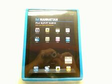 New! Manhattan Slip-Fit Sleeve for iPad 2 & iPad 3 Color:Blue (450034)