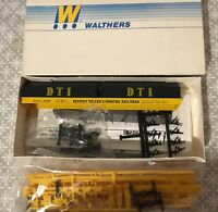 Walthers 932-3854 HO Cushion Coil Car Kit Detroit Toledo & Ironton DT&I # 1337