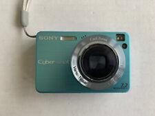 Sony CyberShot 7.2 MP DSC-W120 Digital Camera Blue