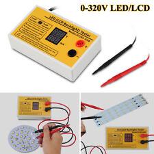 0-320V Output LED LCD TV Backlight Tester Meter Per LED TV Riparazione EU Plug