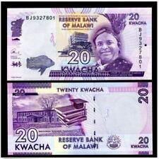 Malawi 20 Kwacha 2017 (UNC) 全新 马拉维 20克瓦查 2017年 BG 3478167