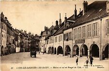 CPA Lons le Saunier Maison ou est né Rouget de l'Isle (446759)