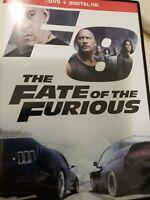 New But Open Fast & Furious 8 DVD Dwayne Johnson