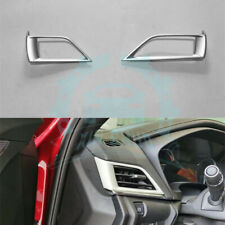 For Cadillac CT4 2020 Silver Left&Right Air Outlet Vent Trim 2PCS