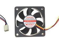 EverCool 60mm x 15mm Ball Bearing Fan,3pin EC6015M12CA