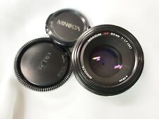 Sony Minolta A mount 50mm f/1.7 prime lens for a350 a550 a450 AF