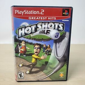 Hot Shots Golf 3 Greatest Hits - Sony PS2 PlayStation 2 Game With Case Working