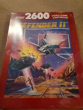 DEFENDER II for Atari 2600  New in Box ▪︎▪︎▪︎▪︎▪︎ FREE SHIPPING ▪︎▪︎▪︎▪︎▪︎