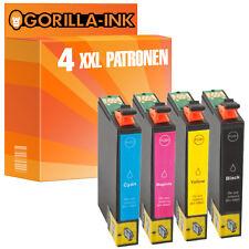 4 cartuchos para impresora XXL para Epson Stylus sx200 sx205 sx210 sx215 sx218 gi711-14