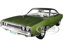 "1968 DODGE CHARGER R/T ""CLASS OF 68"" GREEN LTD 1002 PCS 1/18 AUTOWORLD AMM1140"