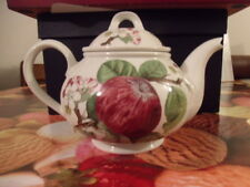 Portmeirion Pomona *The Hoary Morning Apple* Large Teapot With Lid