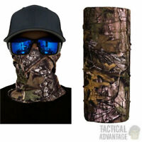 Realtree Camouflage Snood Scarf Bandanna Face Head Neck Mask Tube Balaclava Camo