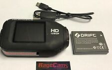 DRIFT GHOST 1080P HELMET CAMERA SPORTS CAM BATTERY USB CABLE 6 MONTH WARRANTY