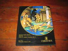 CHRISTIES CATALOGUE IMP ITALIAN MAIOLICA FROM THE ARTHUR SACKLER COLLECTION