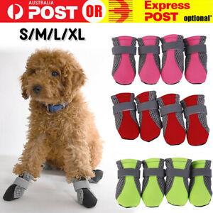 2021 Anti Slip Waterproof Protective Dog Shoes Rain Boots Pet Socks Booties 4Pcs