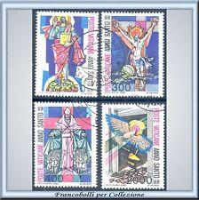 Vaticano 1983 Anno Santo n. 721/724 Usati