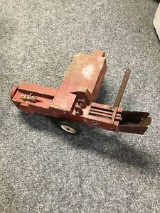 Vintage International Harvester Trailer Cultivator ? For Parts Rusty
