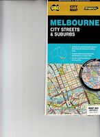 Melbourne City Streets and Suburbs Map #362