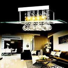 Crystal LED Ceiling Light Pendant Lamp Fixture Lighting Chandelier Dining Room