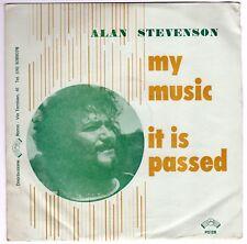 "7"" Alan Stevenson – My Music / It Is Passed SBN  P 5128-1 Electronic, Funk / S"