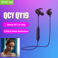 QCY QY19 Wireless BT5.0 In-ear Stereo Headset Waterproof Sports Earphone Earbuds