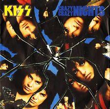 """KISS crazy crazy nights/no no no KISS 7 uk vertigo 7"""" PS EX/EX"""