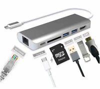 USB-C Dock 6-fach - Docking-Station für Geräte mit USB-C Anschluss