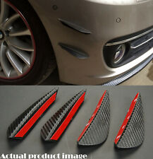 "4 x 6"" Carbon Pattern Bumper Canard Splitter Fin Wing Spoiler Diffuser for Dodge"