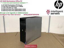 HP Z620 Workstation Intel Xeon E5-2660 2.2GHz 48GB DDR3 RAM 1TB 7.2K SATA