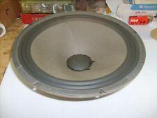 "Vintage 15"" Inch  Woofer Speaker  8 OHM pulled from a Kustom Cabinet"