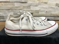 Converse All Star Unisex Size UK5 White Classic Chuck Taylor LoTop Trainer Shoes