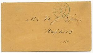 CSA #68xu1 Cover Raleigh, NC Handstamp Paid 5 Two Color Provisional 17 July 1861
