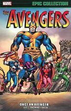 Avengers Epic Collection: Once an Avenger by Roy Thomas and Stan Lee (2016, Paperback)