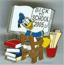 DONALD DUCK BACK TO SCHOOL 2005 LE 1200 Disney PIN