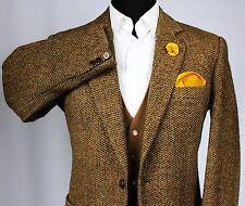 Harris Tweed Blazer Jacket Barleycorn Country 40R WONDERFUL QUALITY TWEED X208