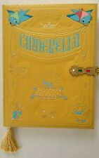 Disney Parks Cinderella Storybook Style Journal Diary Blank Book NEW