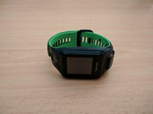 TomTom Spark/ Runner 2 GPS Watch Model 4RFM Black/Green Band Large - NO CHARGER