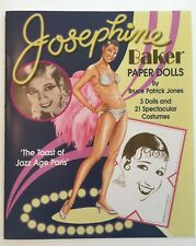 """Gorgeous JOSEPHINE BAKER """"THE TOAST OF JAZZ AGE PARIS"""" Paper Doll Book"""
