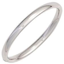 Armreif Armband oval 925 Sterling Silber Silberarmreif Kastenschloss NEU