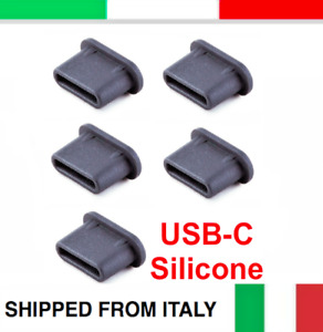 5pcs USB TYPE-C ANTI-DUST PLUG SILICONE STOPPER for HUAWEI P10 P20 P30 P40 PRO