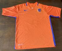 Nike Netherlands Soccer Futbol Orange Blue Jersey Kit Size Mens Small 2018