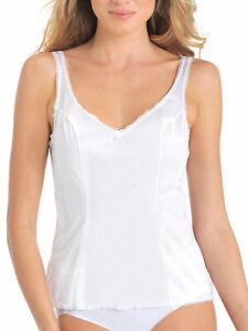 Vanity Fair Women's Satin Glance Built-up 100% Nylon Camisole 17760