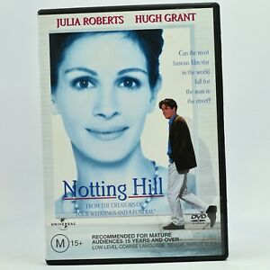Notting Hill Julia Roberts Hugh Grant DVD Good Condition Free Tracked Post