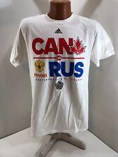2016 World Cup of Hockey Canada vs Russia Adidas Shirt - Medium