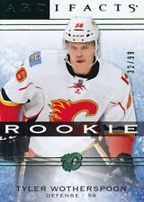 2014-15 UD ARTIFACTS TYLER WOTHERSPOON RC /99 EMERALD #149 14-15