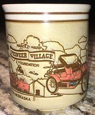 PIONEER VILLAGE MINDEN NEBRASKA COFFEE MUG Cup Used MUSEUM FUN tedsclutch TRAVEL